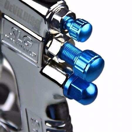 Pistola de Pintura HVLP-Transtec Gravedad DeVilbiss SLG-520G
