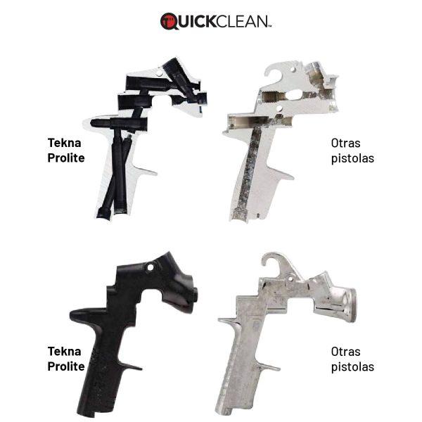 Pistola de Pintura HVLP-Transtec DeVilbiss Tekna Prolite