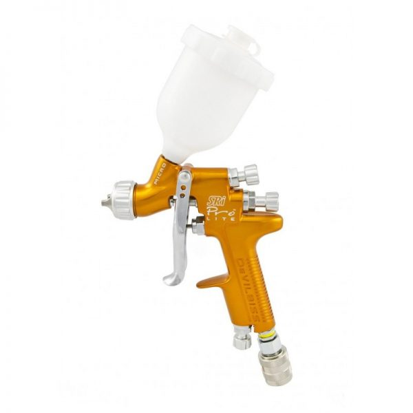 Pistola de Pintura HVLP-Transtec Gravedad DeVilbiss SRi Pro Lite