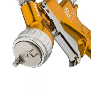Pistola de Pintura HVLP-Transtec Gravedad DeVilbiss GTi Pro Lite