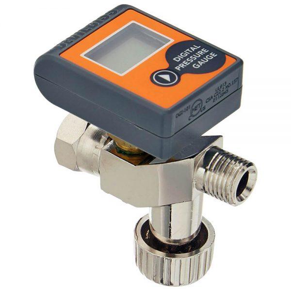 Válvula de Ajuste de Aire con Manómetro Digital HAV-555