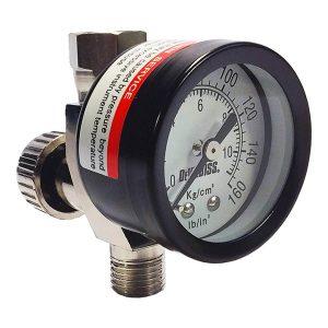 Válvulas de Ajuste de Aire con Manómetro HAV-501
